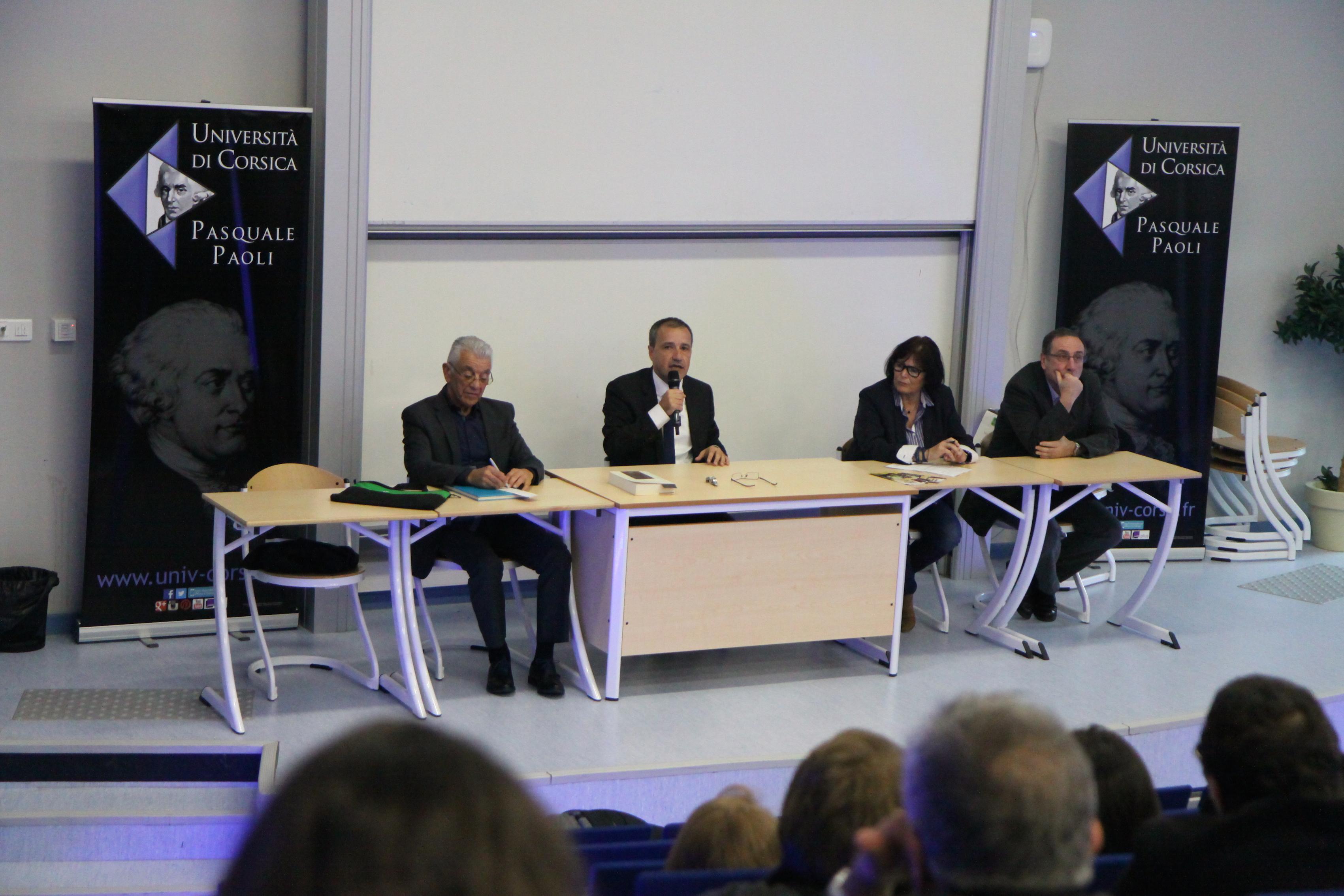 Le président de l'Assemblée de Corse s'est exprimé pendant une heure sur  les pensées et les textes fondateurs du XVIIIème siècle