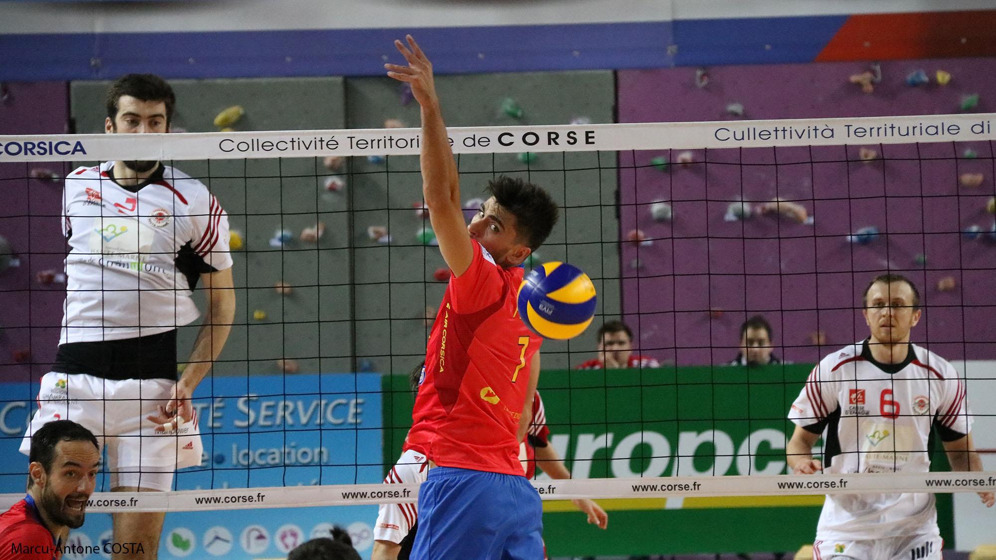 Volley-Ball : Le GFCA passe à côté face à Chaumont