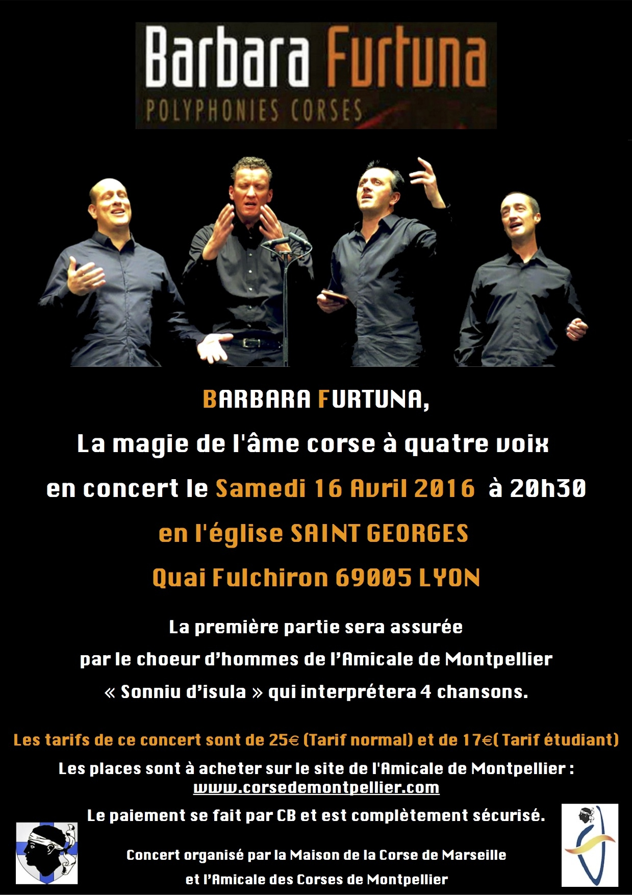 Barbara Furtuna en concert à Lyon