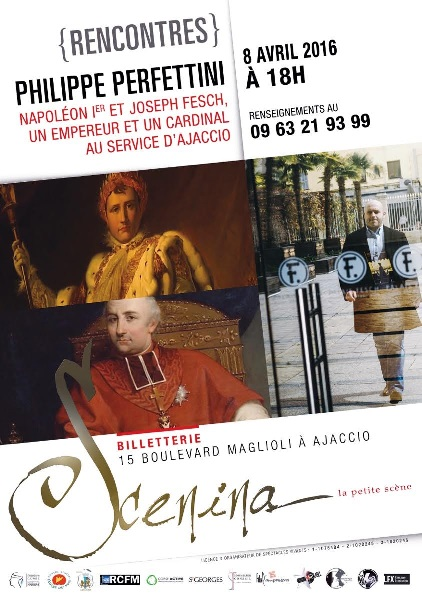 Ajaccio : Scenina la petite scène et son programme d'avril