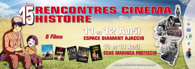 """15émes rencontres """"Cinéma Histoire"""" d'Ajaccio"""
