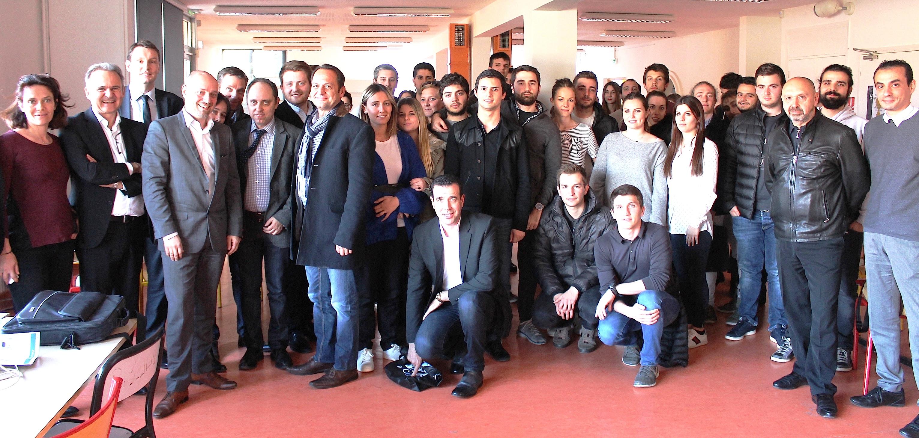 Challenge Xavier Peraldi : Quand les étudiants jouent les chefs d'entreprise a l'IAE de Corse