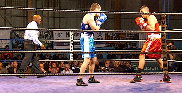 Gala de boxe du Ring bastiais : Legato confirme