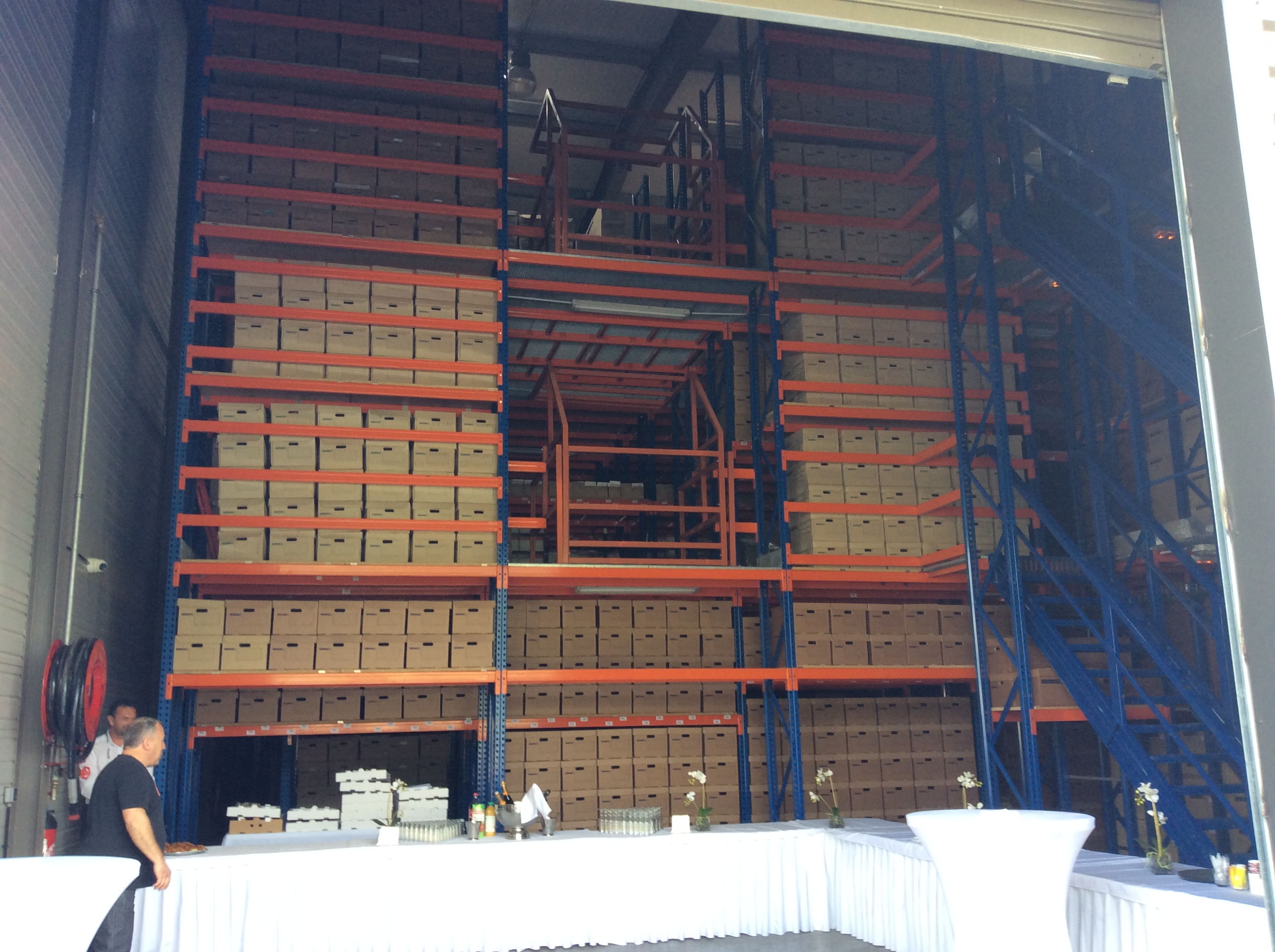 Borgo : inauguration du nouveau centre de gestion d'archives