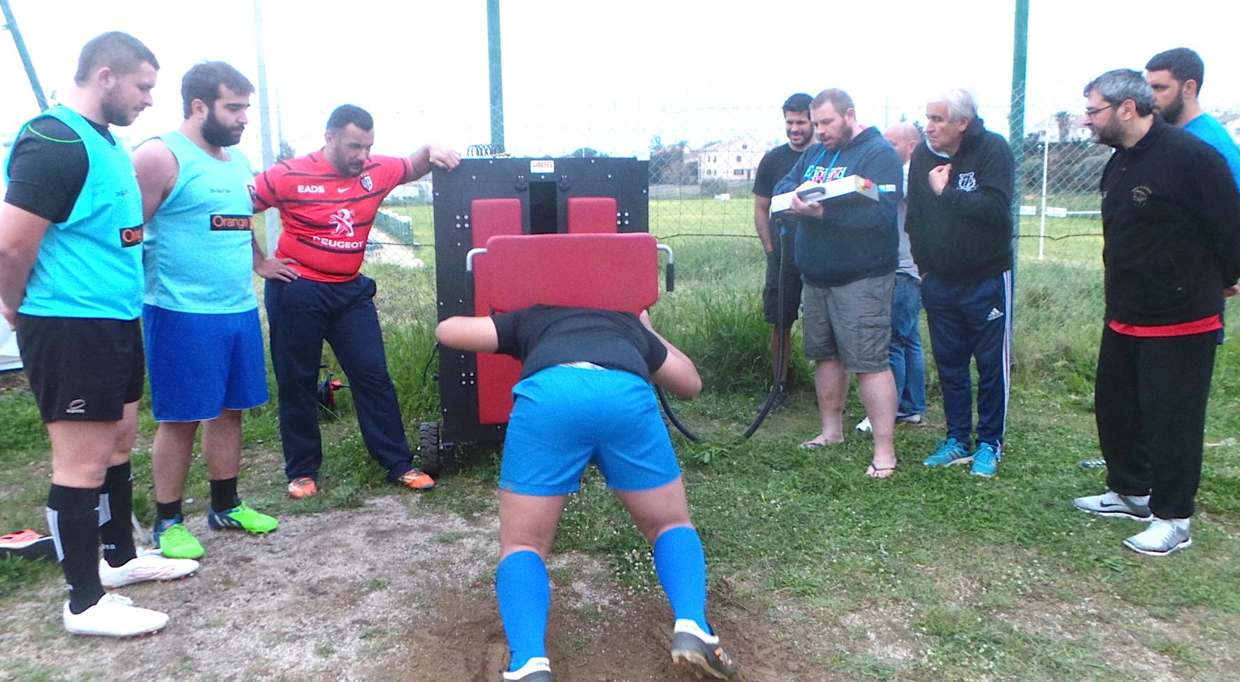 Rugby : Thierry Savio formateur des plus grands piliers du Stade toulousain à Bastia