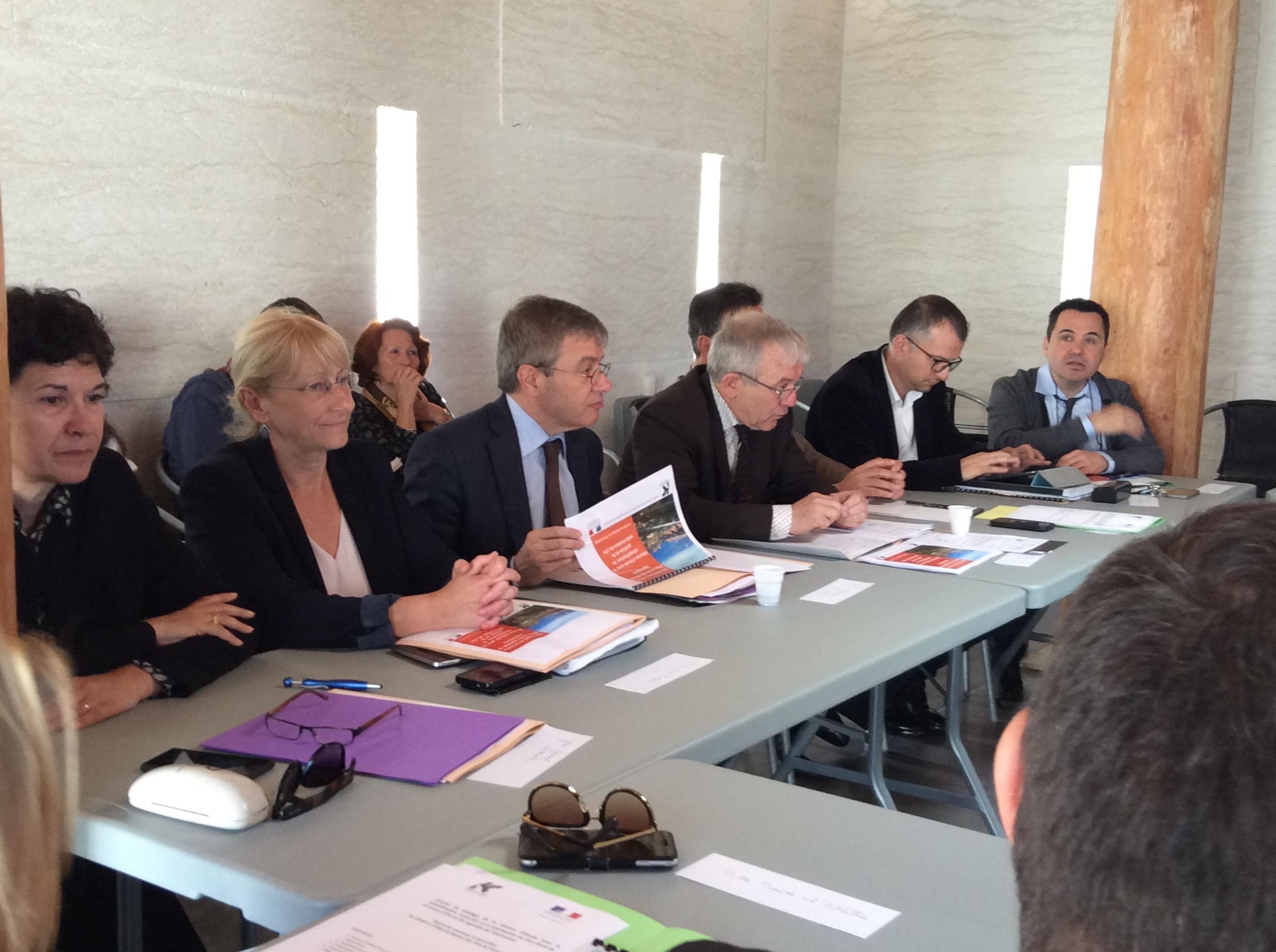 Site classé de la Conca d'Oru et du vignoble de Patrimoniu : Première réunion du comité de pilotage