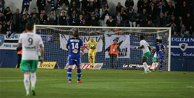 Saint-Etienne surprend le Sporting à Furiani (0-1)