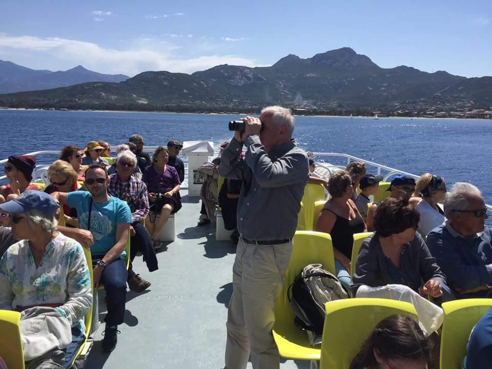 Le CCAS de Lumio à la découverte de la réserve de Scandola