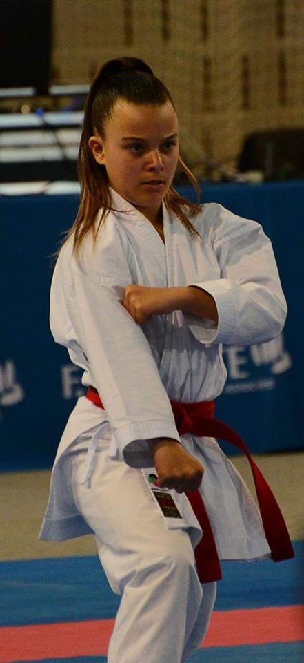 Coupe de France de Karaté : Cassandra Sampieri  fait monter la Corse sur le podium