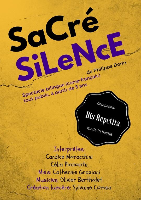 Un « Sacré silence » à la Fabrique de théâtre de Bastia