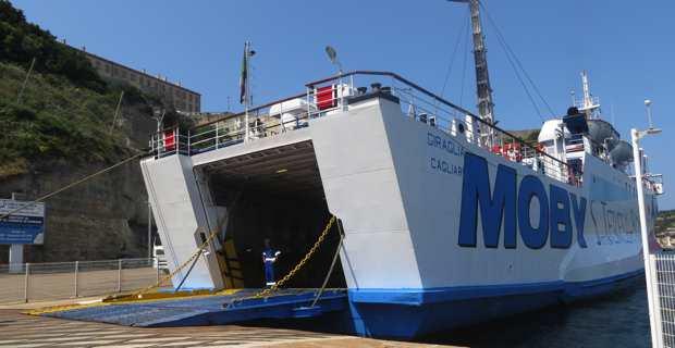 Au départ du port de Bonifacio pour la liaison Santa Teresa di Gallura.