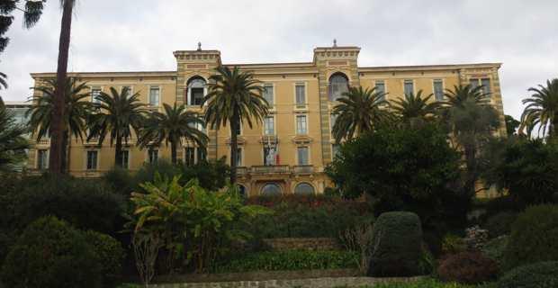 L'hôtel de région, siège de la CTC à Ajaccio.