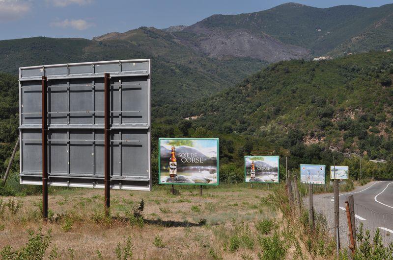 Paysages de France et l'affichage publicitaire : Recours contre préfet de Haute-Corse