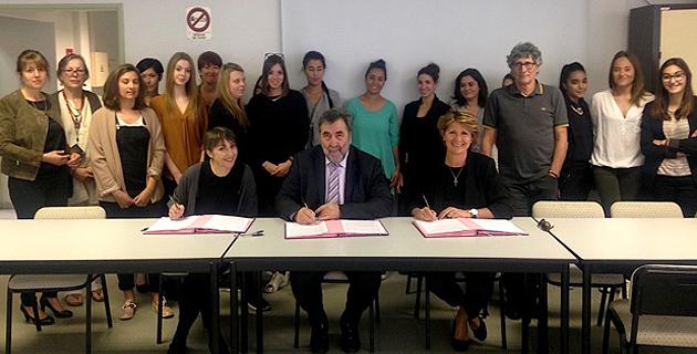 Nouveau partenariat pour la Marie-Do : L'Inspection académique 2A et le LEP Finosello à ses côtés