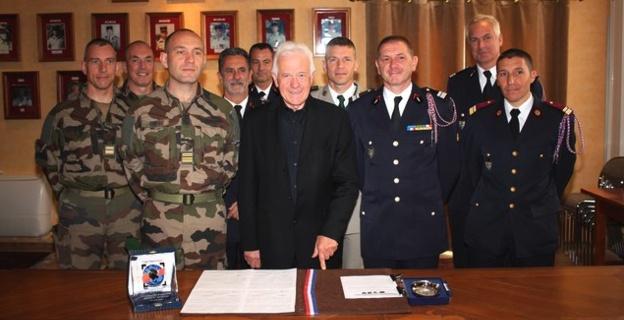 Un partenariat fort entre le 2e REP de Calvi et le SDIS de Haute-Corse