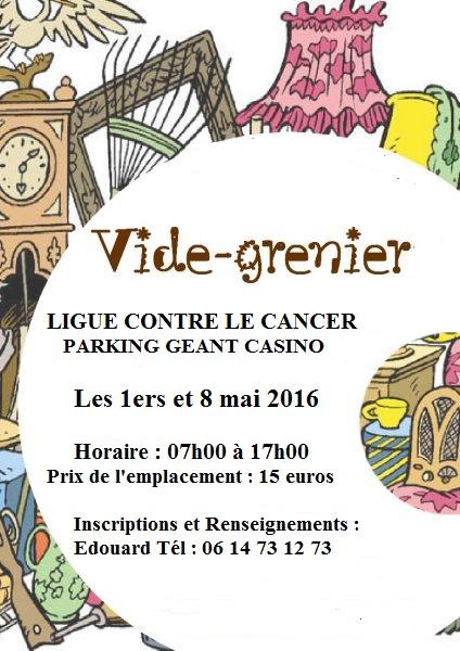 Vides-greniers organisés par le Comité de la Corse du Sud de la Ligue Contre le Cancer