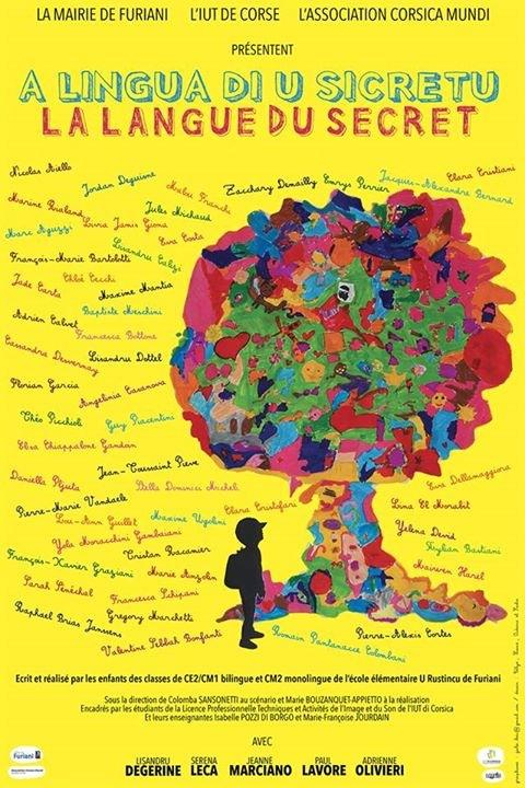 Dessin de l'affiche réalisé par les élèves de CP de l'école