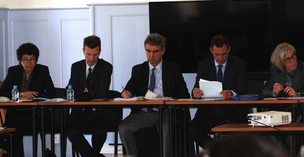 Gilles Simeoni, nouveau président du Comité de bassin de Corse.