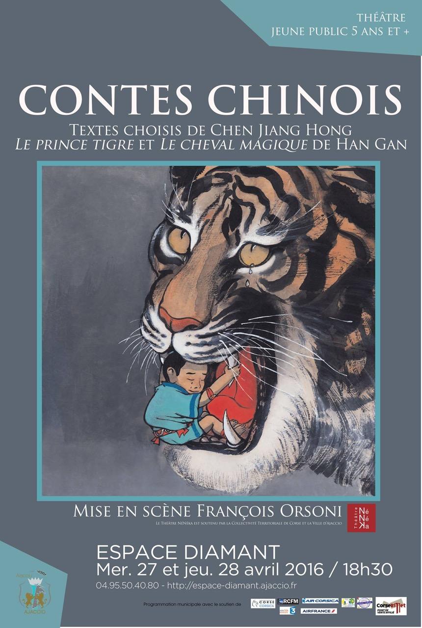 """Ajaccio : """"Les Contes chinois"""" de François Orsoni pour petits et grands à l'Espace Diamant"""