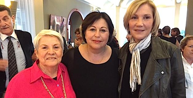 Andrée Mattei, Marie-Paule Ciosi,  Marie-Anne Acquaviva