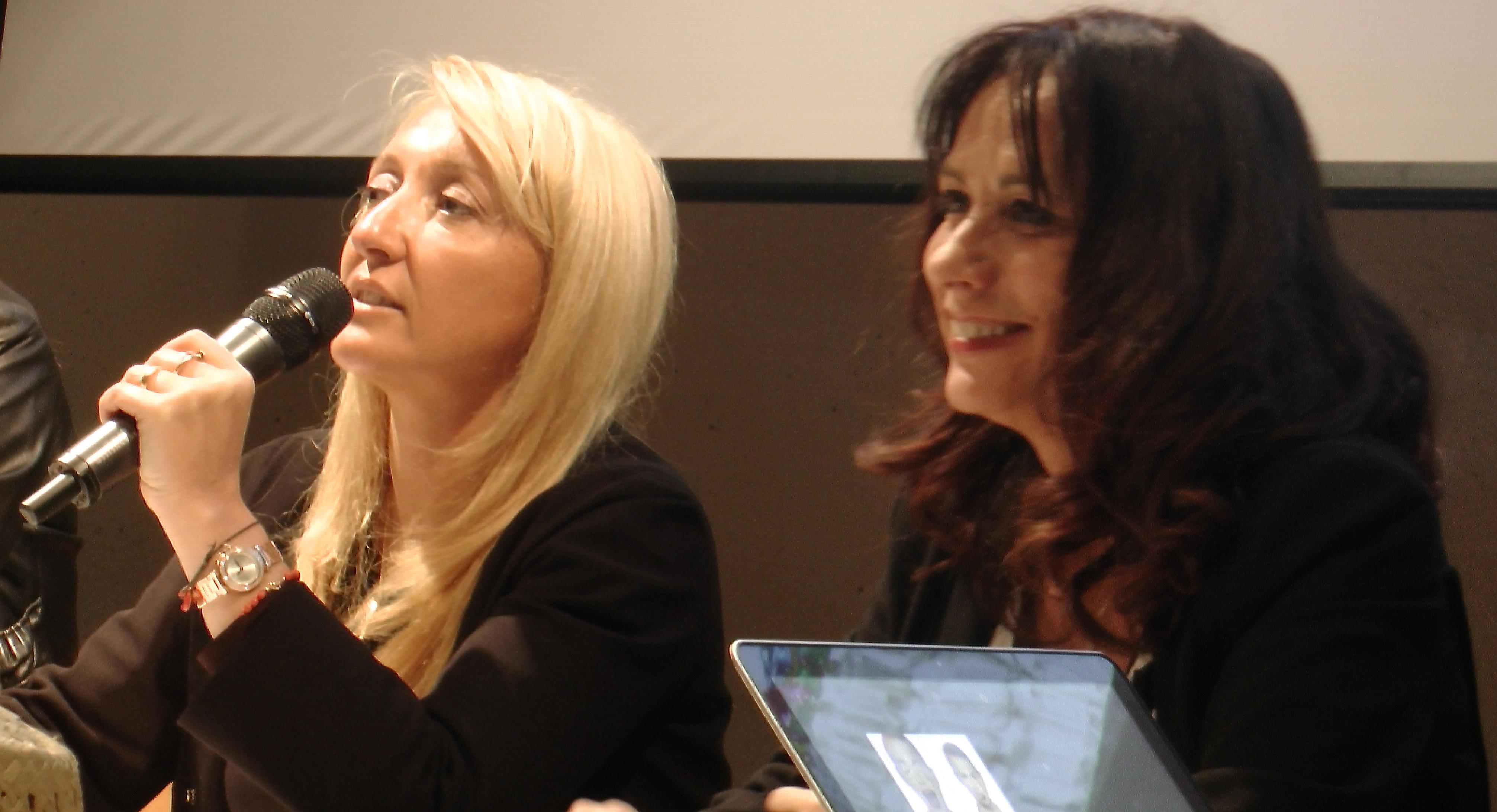 Véronique Valentini-Calendini ( à droite) avec Emmanuelle De Gentile, présidente de l'office du tourisme de l'agglomération de Bastia