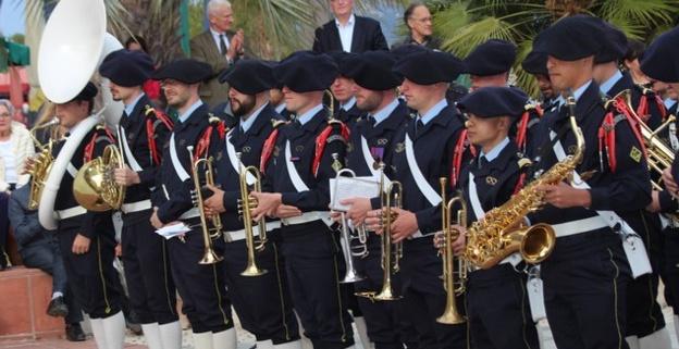 Calvi : Concert de la fanfare du 27e Bataillon de Chasseurs Alpins
