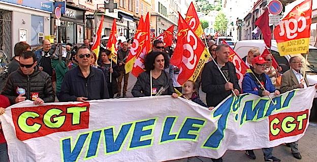 1er-Mai : Faible mobilisation à Bastia
