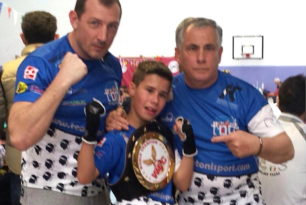 Le Team Toni Sport de Biguglia à l'honneur à Milan