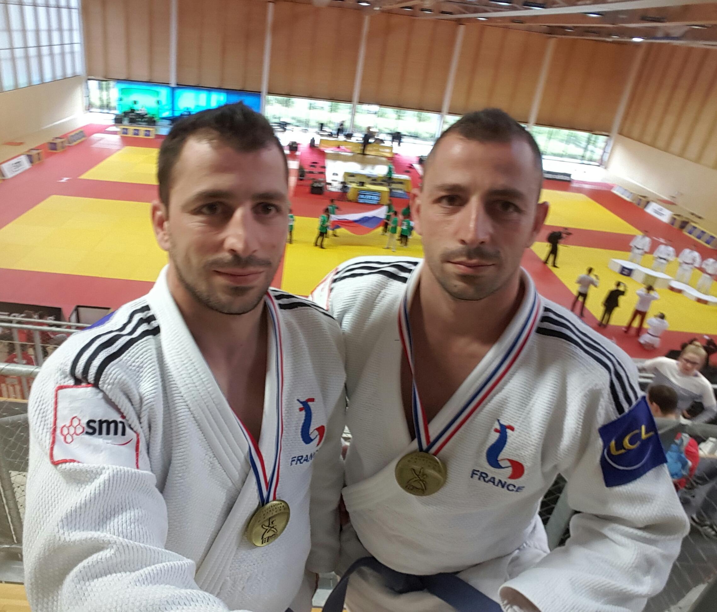 Les frères Beovardi 3èmes au tournoi international de France