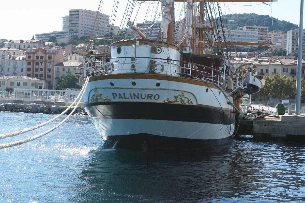 "Ajaccio : Escale du ""Palinuro le navire-école de la Marine italienne"
