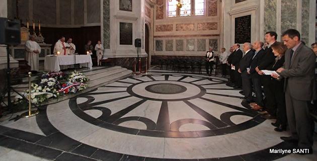 Ajaccio : Commémoration de la date anniversaire de la mort de l'Empereur