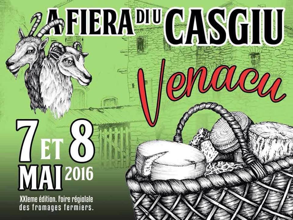 Reine du printemps, A fiera di u casgiu revient tout au long du week-end à Venaco
