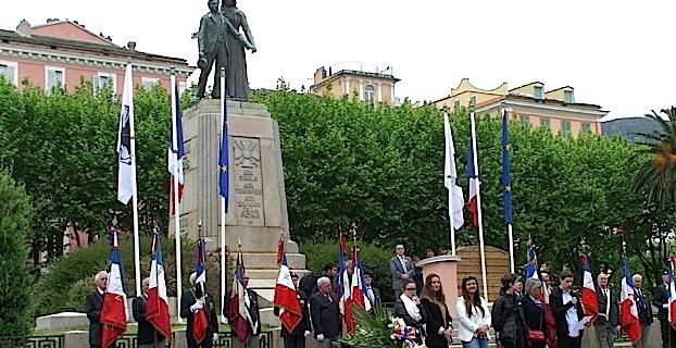 8-Mai : Nombreuses cérémonies à Bastia