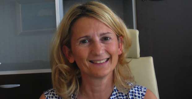Nanette Maupertuis, conseillère exécutive à la Collectivité territoriale de Corse (CTC) et présidente de l'Agence du tourisme (ATC).