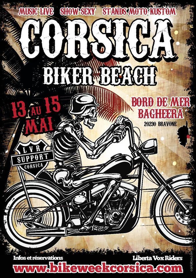 La Corsica Biker Beach organisée par le LVR