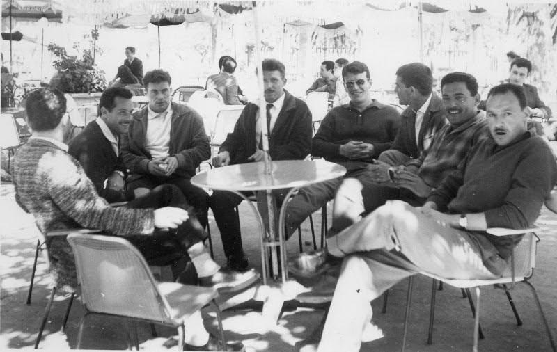René Vignocchi, deuxième à partir de la gauche