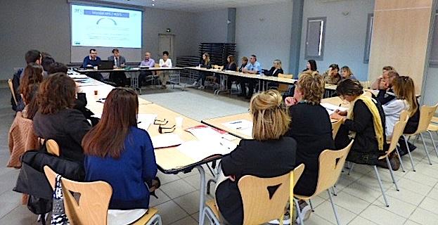 Le comité technique se réunit pour la première fois dans le cadre du projet de CLS à Ghisonaccia.