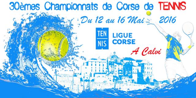 Ouverture à Calvi des 30èmes championnats de Corse de tennis