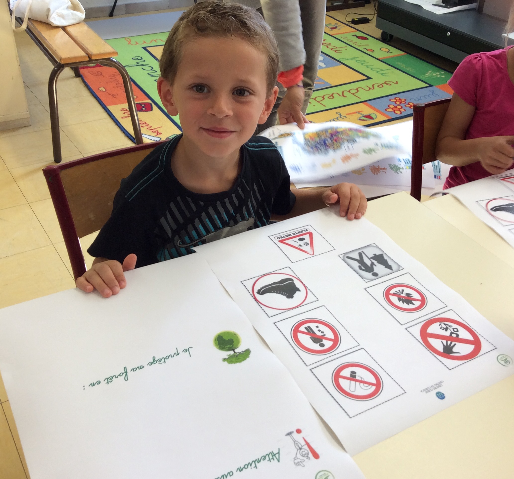 Lucciana : La forêt s'invite à l'école de Casamozza