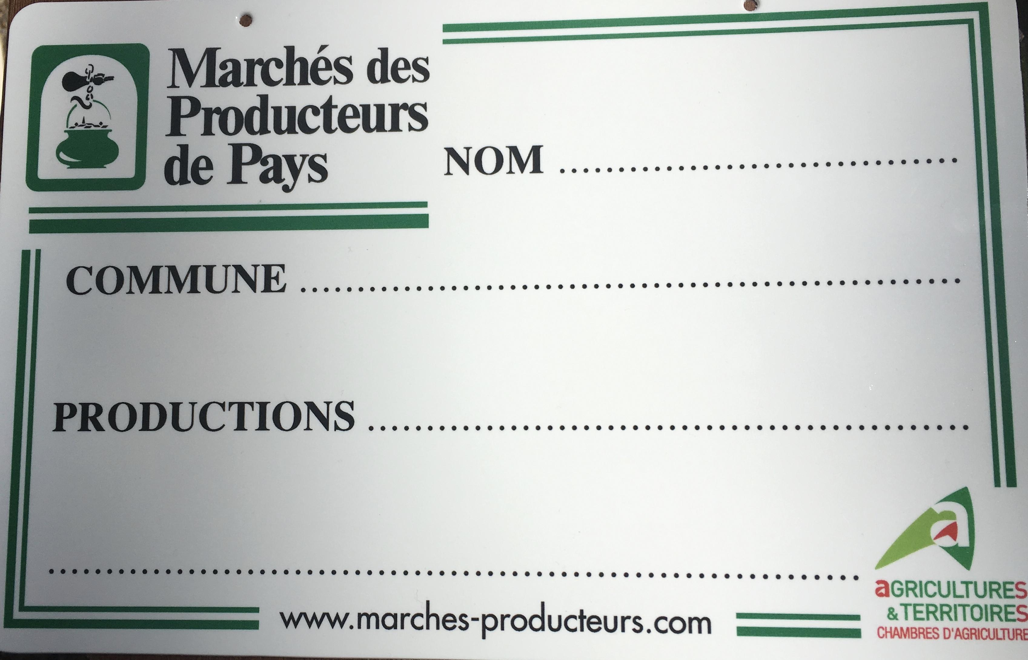 Un espace pour les producteurs de Pays sur le marché d'Ajaccio