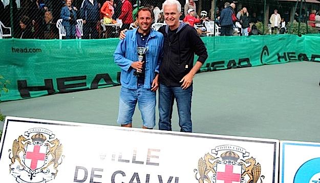 Laurent Mazzetti aux côtés de son oncle et adjoint au Maire de Calvi Jean-Louis Delpoux