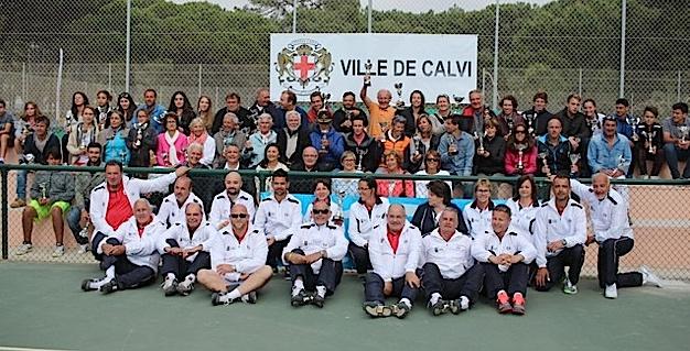 Championnats de Corse de tennis à Calvi : La remise des prix pour terminer