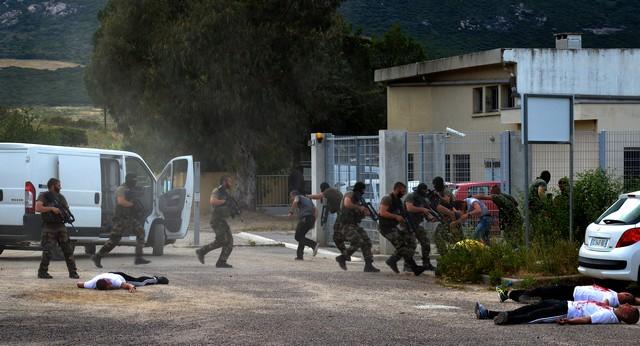 Manœuvre d'envergure dans la nuit du 25 au 26 mai dans le secteur Calvi-Calenzana