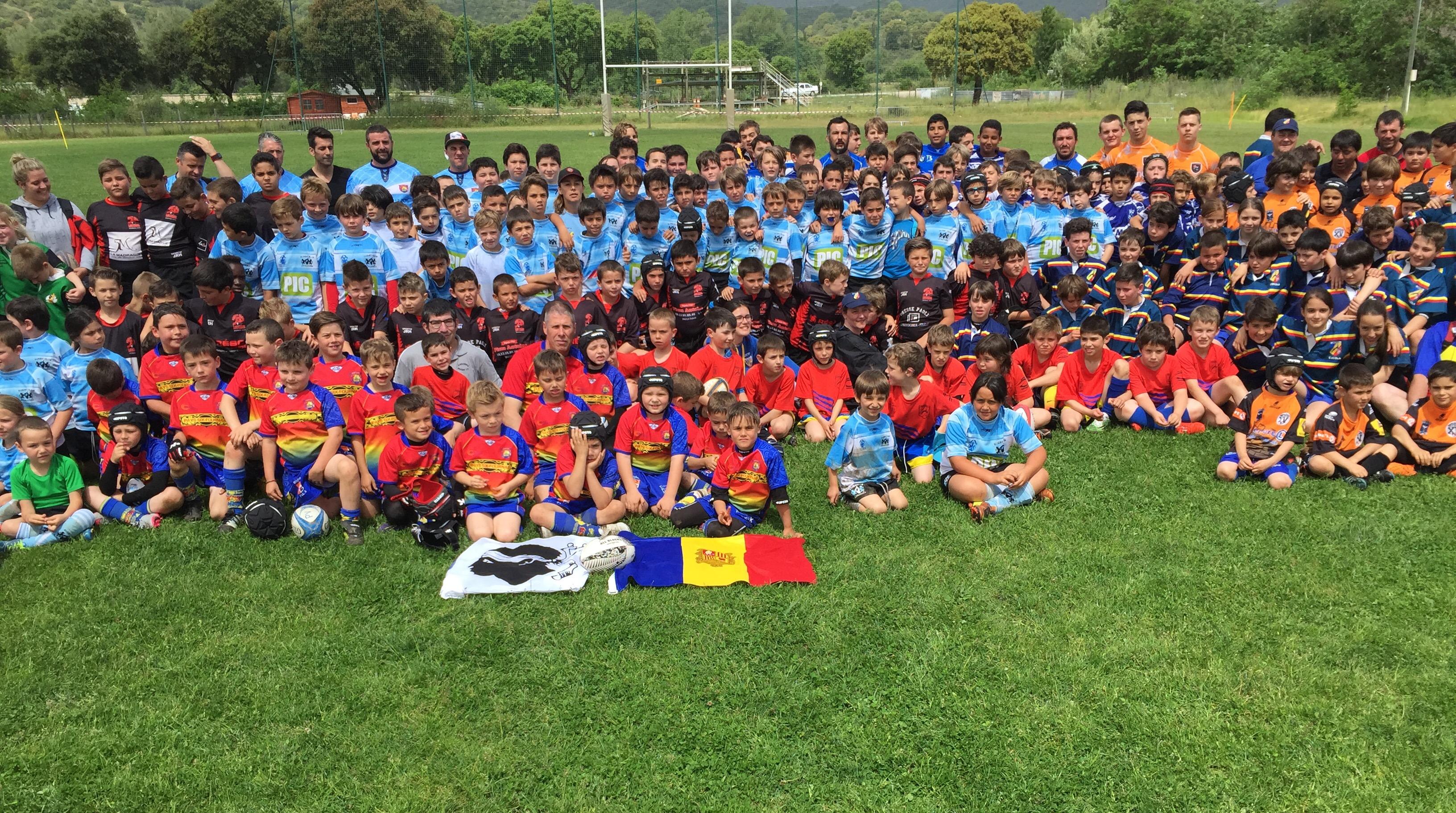 Tournoi de rugby I Piulelli : Ajaccio, Bastia et Six Fours sur le podium….
