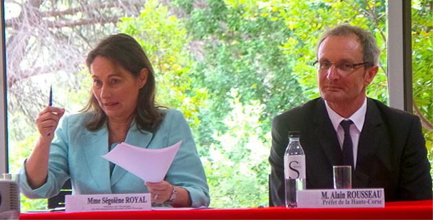 Le rail maritime avait été évoqué à la préfecture de Haute-Corse au mois de Juillet 2014