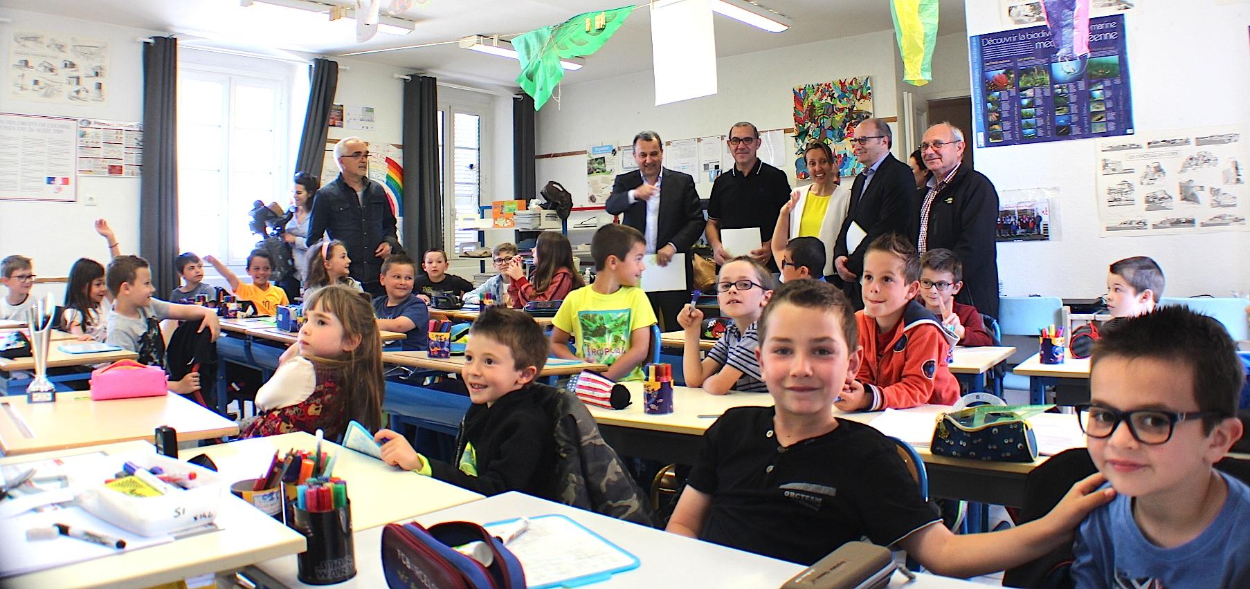 Ville-di-Pietrabugno : L'école Braccini à l'Eco-Scola du Syvadec