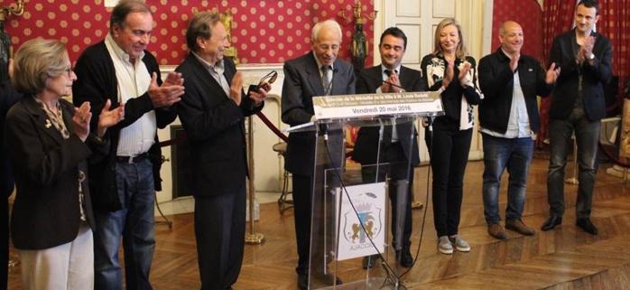 La médaille de la ville d'Ajaccio au docteur Louis Badetti : Un homme de grande valeur