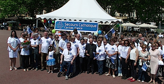 Les 70 ans du Secours Catholique fêtés à Bastia