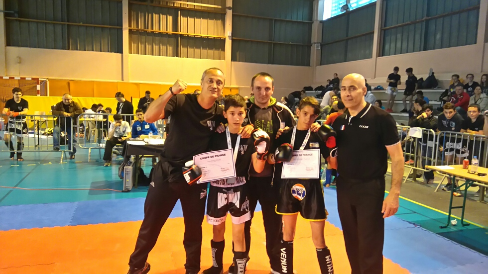 Pierre-Antoine Diez (Bastia KM) remporte la Coupe de France K1 Rules à Melun