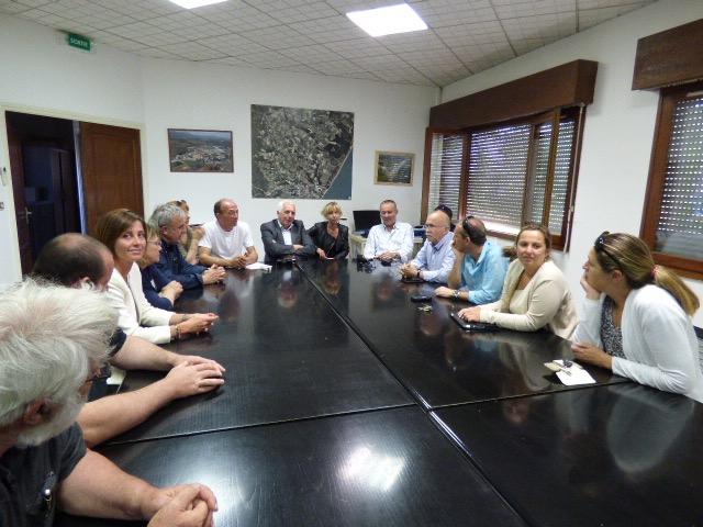 Soutien total et unanime des élus du conseil municipal à Saveriu Luciani.
